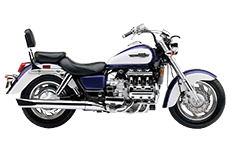 Honda 1500 Valkyrie Tourer Saddlebags