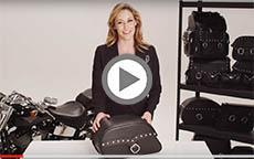 Kawasaki Eliminator And Mean Streak Charger Medium Studded Motorcycle Saddlebag Review