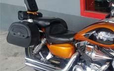 Lee's 03 Kawasaki Mean Streak 1500 w/ Warrior Series Saddlebags