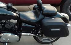 Kendal's '04 Kawasaki Mean Streak 1600 w/ Hard Motorcycle Saddlebags