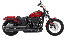 Harley Davidson Softail Street Bob Bags