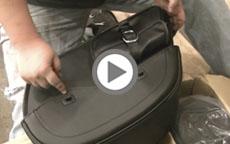Unboxing Viking Bags Superglide Side Pocket Saddlebags