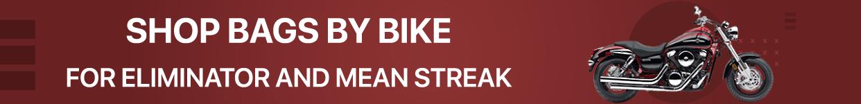 All Kawasaki Mean Streak, Eliminator Specific Motorcycle Bags