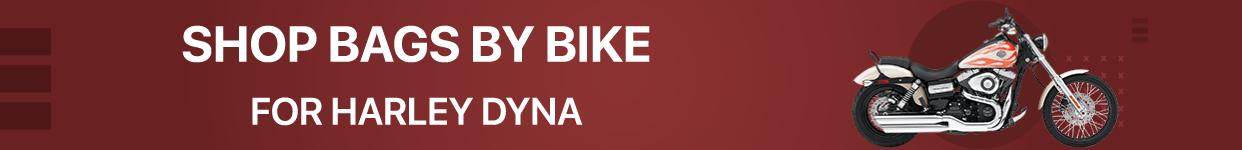 Harley Dyna Motorcycle Saddlebags
