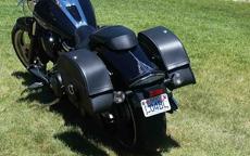 Matt's Yamaha Raider w/ Charger Leather Saddlebags