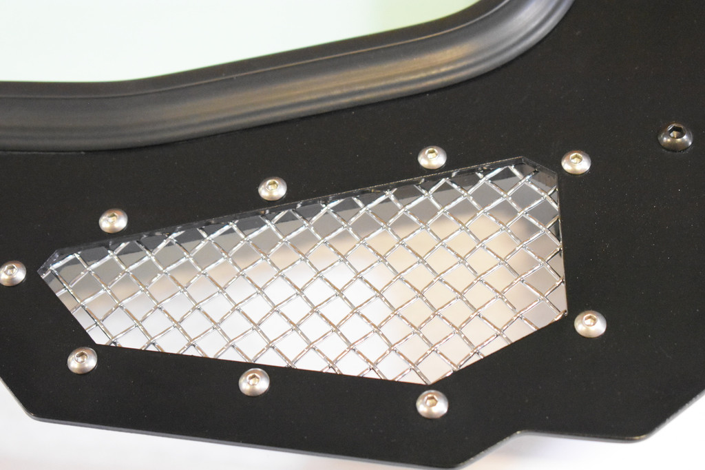 Full Glass Windshield for CAGEWRX Race Cage on RZR 900, 1000, TURBO