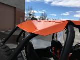 Fast Back Aluminum Roof RZR 900 4, 1000 4, XPT 4  WITH SUNROOF