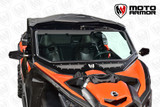 Vented Full Glass Windshield for CAN AM Maverick X3