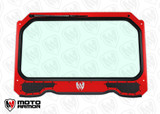 Full Glass Windshield with Vents for 900, 1000, Turbo Red