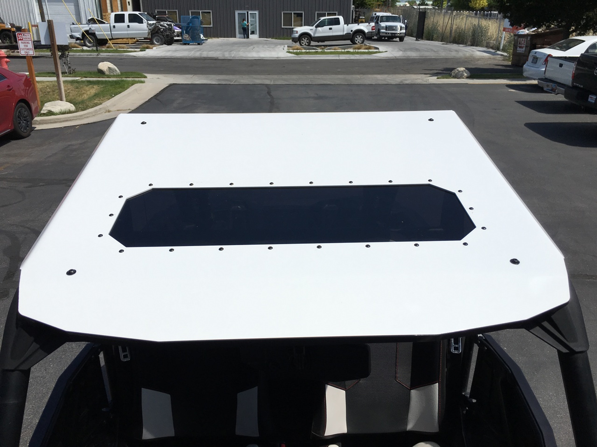 Fast Back Aluminum Roof Top With Sunroof Rzr Xp 1000 Turbo