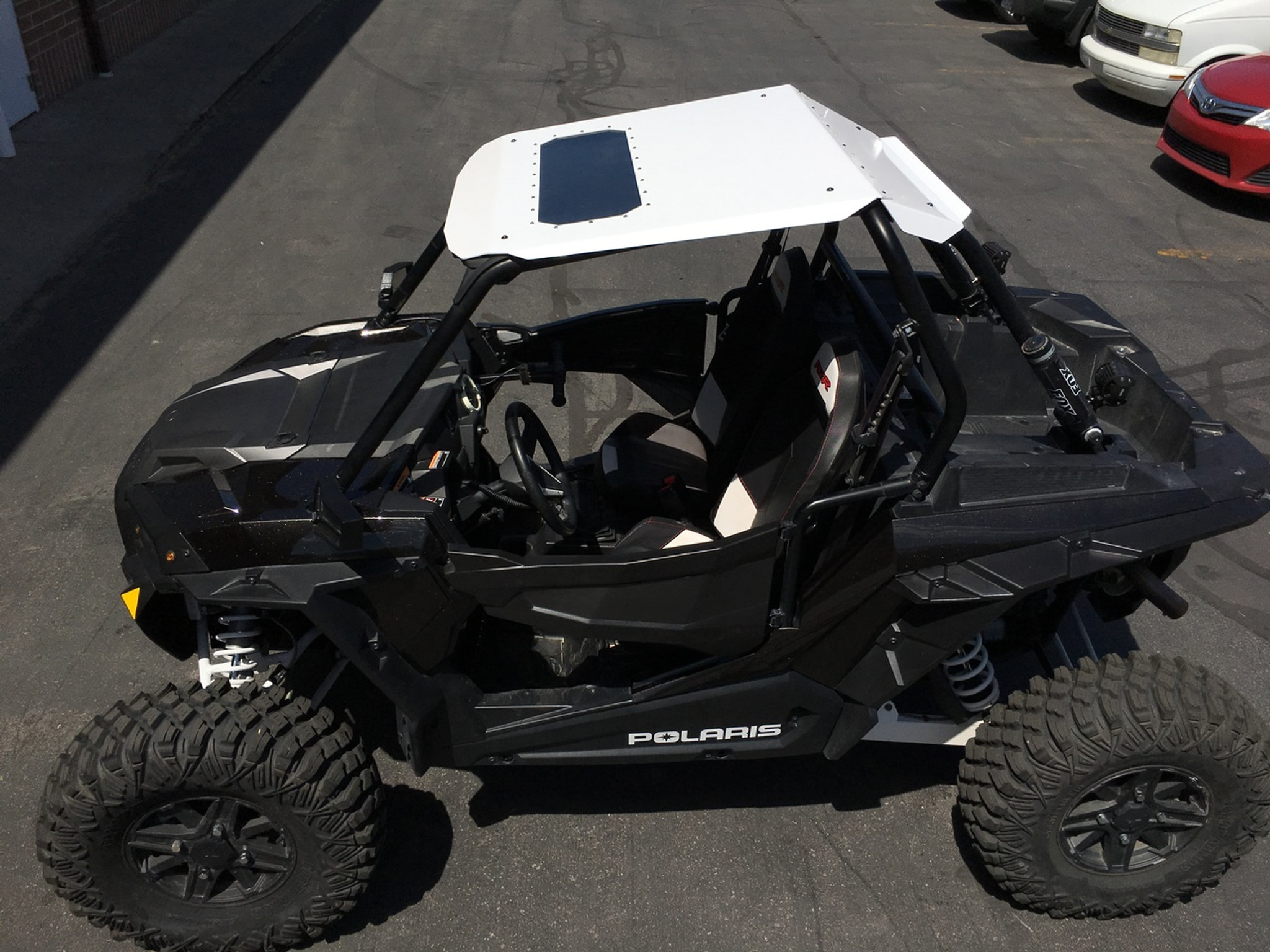 Polaris Rzr 1000 Roof >> Fast Back Aluminum Roof Top With Sunroof Rzr Xp 1000 Turbo