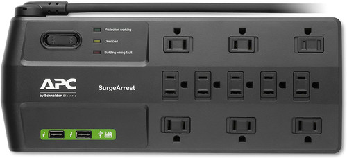 APC P11U2 11-Outlet Surge with USB Charging