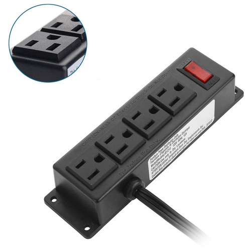 Industrial Mountable 4-Outlet Surge Protector