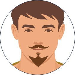 The Vand Dyke Beard