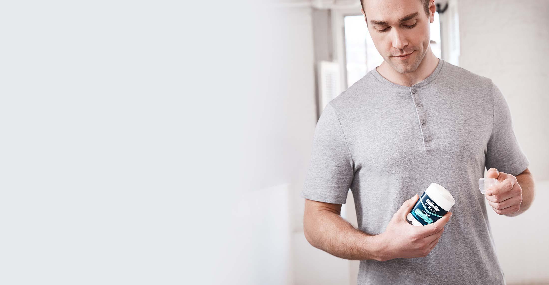Gillette Clincal Advanced Soft Solid Antiperspirant Deodorant