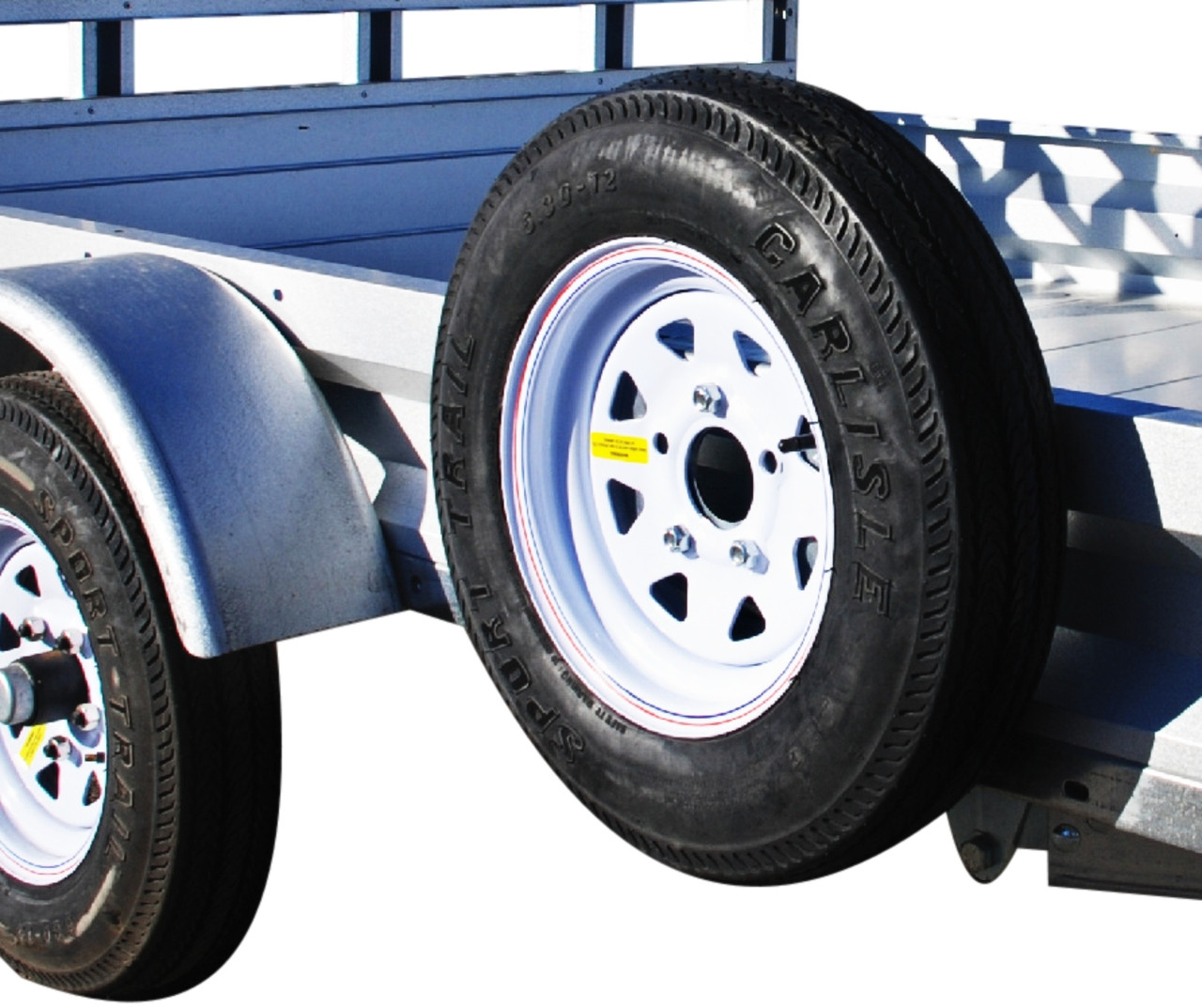 Solid Side   Will fit on all Marathon and Stirling trailers except 4' X 6', S4i and S5i model.
