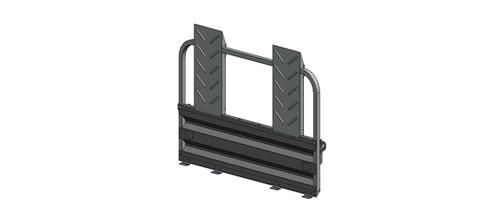 4' Deluxe Rear Ramp Gate Kit