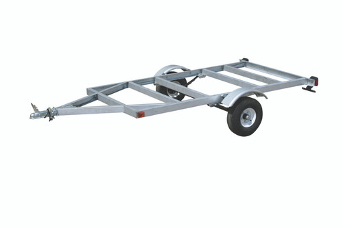 4' x 8' Kit Trailer The kit includes frame, wiring, 12 volt tail lights with quick connect, side marker lights, 1 7/8 in. coupler and safety chains.