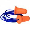 Deviator Corded Disposable Foam Earplugs, 10 Count