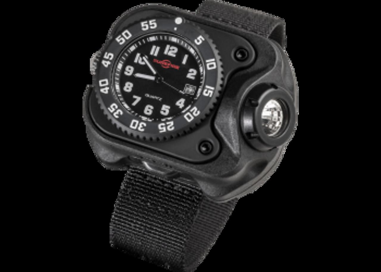 Surefire wrist light with watch, OEM