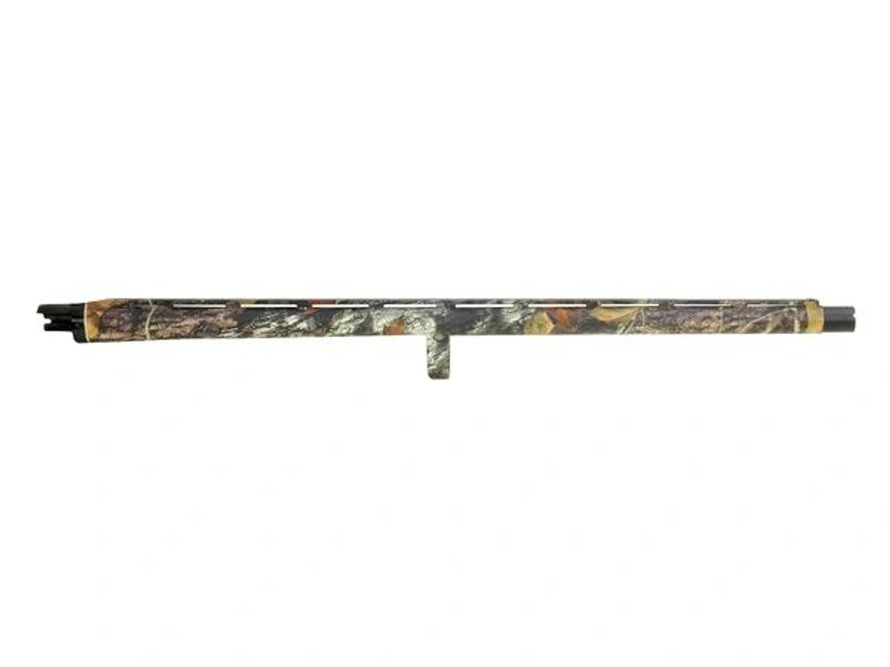 "Remington 12ga 870 Turkey Barrel, 23"" Vent Hi Viz Ivory Bead Sight, Extended Extra Full Turkey Choke"