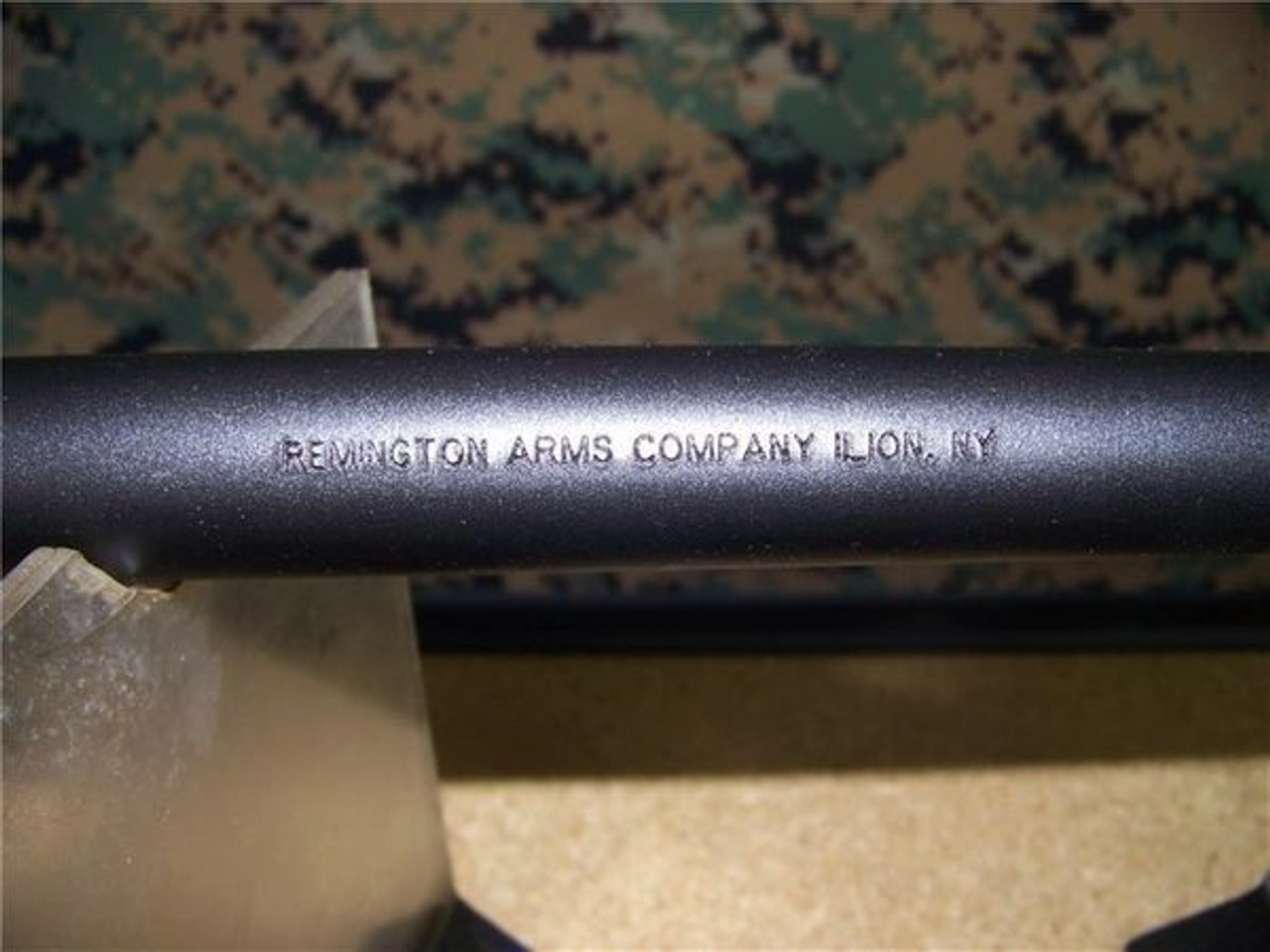"Remington 12ga 870P barrel, 18.5"" Front GR only with protective wings"