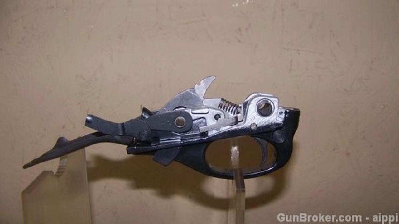 Remington 870 RHEJ/LHS Trigger Plate Assembly 12ga, Blue or Matte