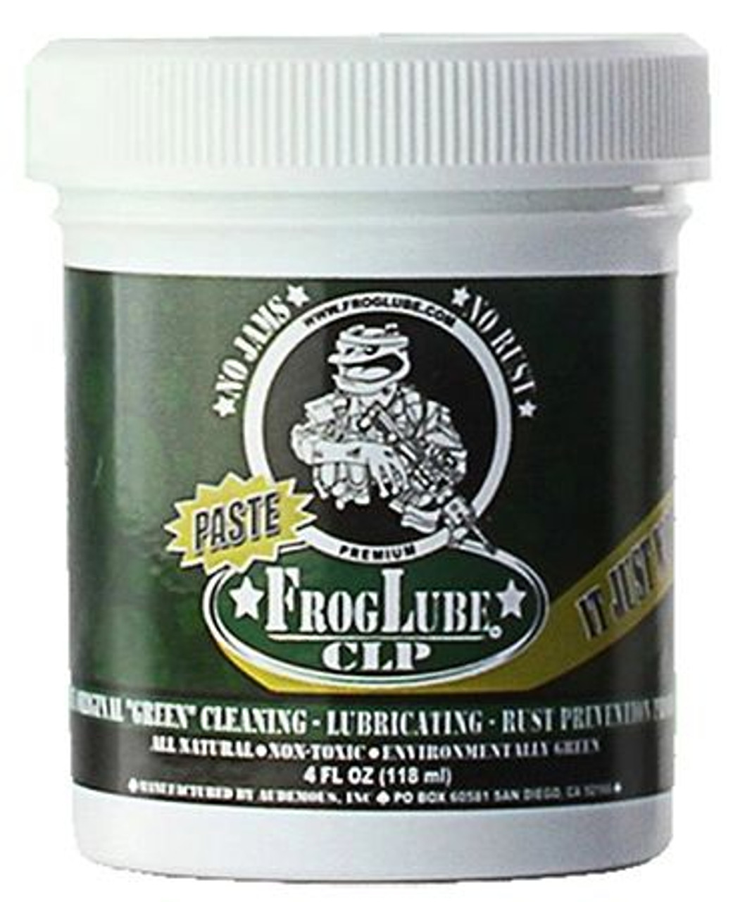 FrogLube 14696 CLP Paste Jar Cleaner/Lubricant 4 oz