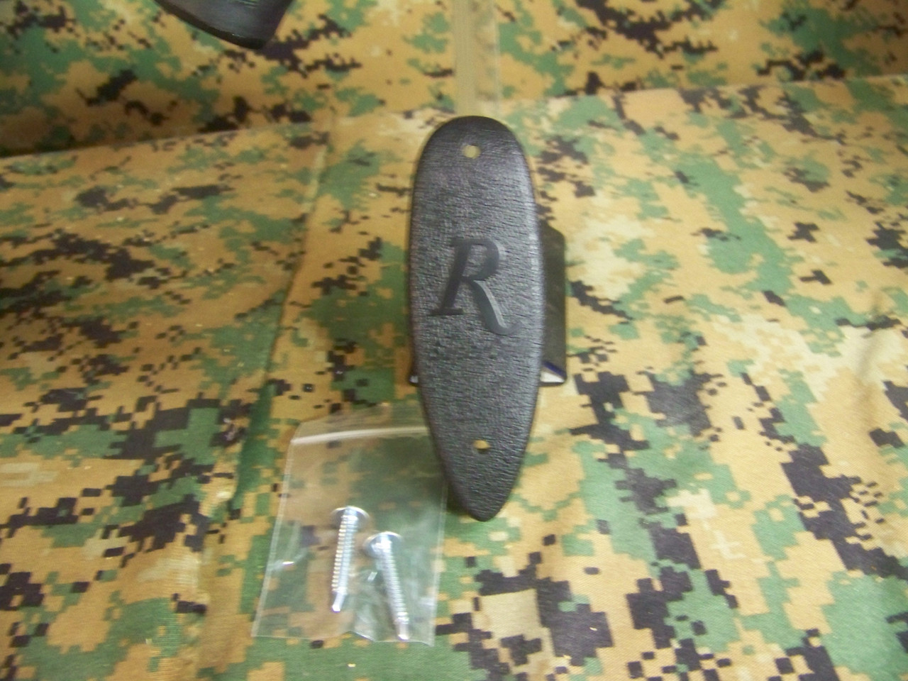 """Remington LE 13"""" LOP, Supercell recoil pad with screws."""