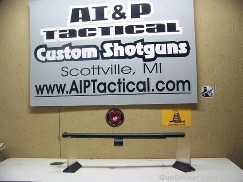 """Remington 12ga 1100 barrel, 18.5"""" Bead sight black oxide"""