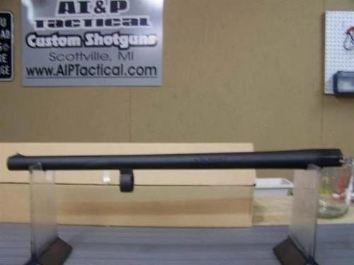 Remington 12ga 870 barrel, 18.5 BS Matte, no detent