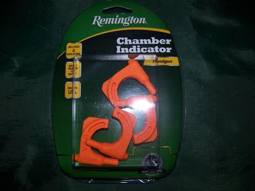 Empty chamber indicators, four count, handgun