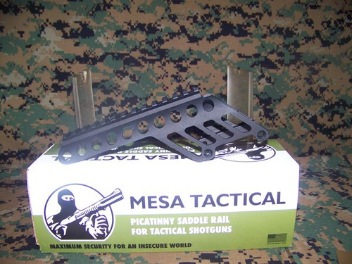 "Mesa Tactical Side Saddle Rail, 5"" for Remington shotguns"
