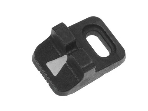 Remington rear sight for shotgun and rifle barrels