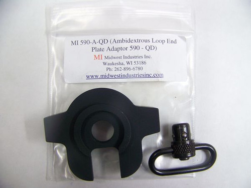 Midwest Industries Ambidextrous Push Button QD Swivel Plate Mossberg Shotguns