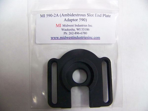 Midwest Industries Ambidextrous Slotted Plate 12ga Mossberg Shotguns