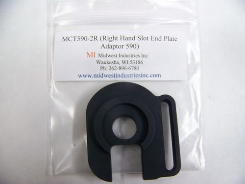 Midwest Industries Right or Left Hand Slotted Plate for 12ga Mossberg Shotguns