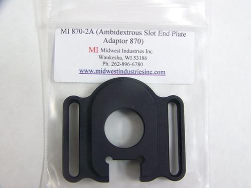 Midwest Industries Ambidextrous Slotted Plate Remington Shotguns
