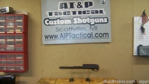 Remington 870 Police Receiver, Virgin, Parkerize, complete with parts