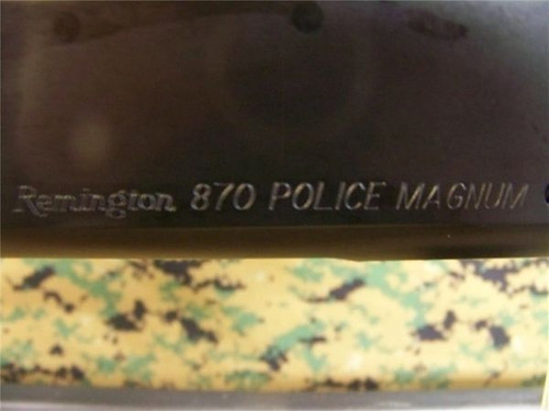 Remington 870 Police Receiver, Virgin, Wingmaster Blued