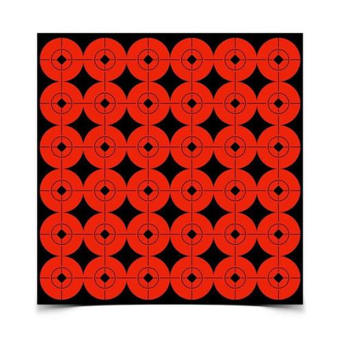 "Birchwood/Casey 1"" spots, slef-adhesive target spots"