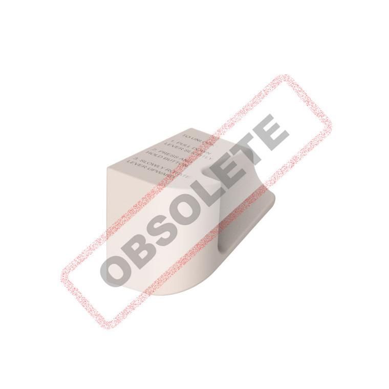 Lever Handle Slim 4 & 6 Retracting Stone - FD901740
