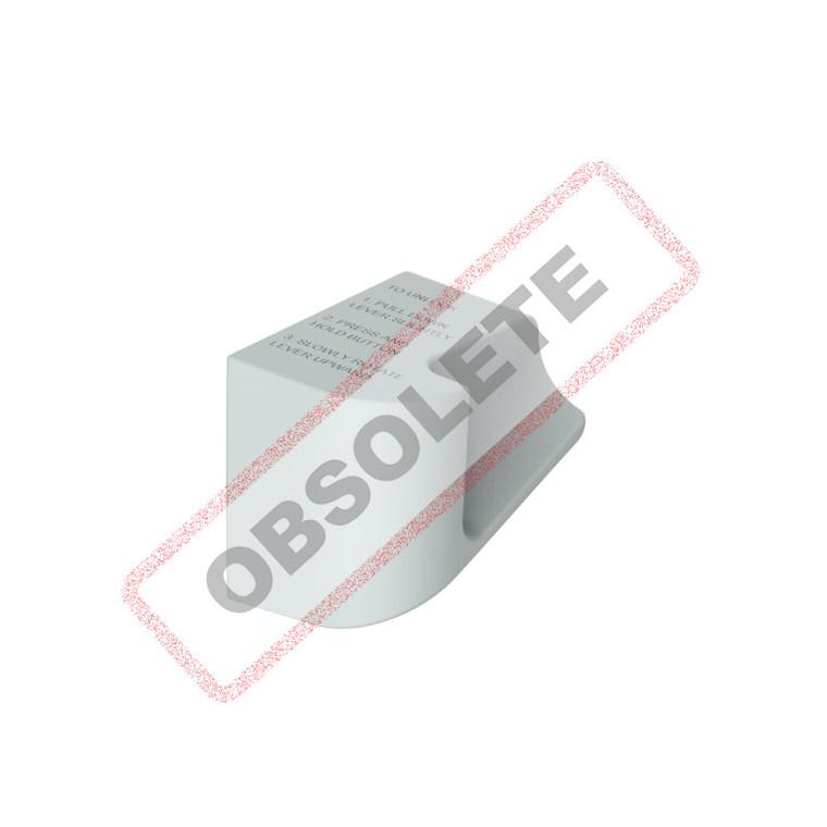 Lever Handle Slim 4 & 6 Retracting Silver - FD901744