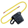 FUSEHOLDER W/COVER2-30AMP ATC BLADE #12 YELLOW LEAD
