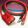 Harness style Jumper Cables are fitted with 100% copper plated lugs and impact resistant power connectors for quick, secure connections