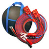 Cold Weather Heavy Duty  25'Jumper Cables - clamp to disconnect with  4' Harness - 4 Gauge