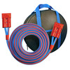 25 foot, 1/0 AWG  Heavy Duty Arctic Superflex Blue  Connector Cable for Fleet Disconnect to Disconnect Booster System