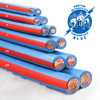 Arctic Superflex Blue Wire is available in six sizes from 8 AWG to 3/0 AWG