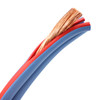 Arctic Superflex Blue 8 gauge 100% copper double conductor wire is finely stranded for super flexibility and best conductivity