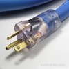 10 gauge 20 amp Arctic Ultraflex Blue power heavy duty extension cords are fitted with NEMA 5-20 molded ends that light when energized